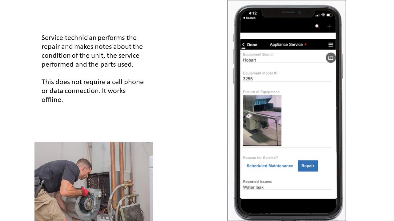 Mobile App For Service Technician