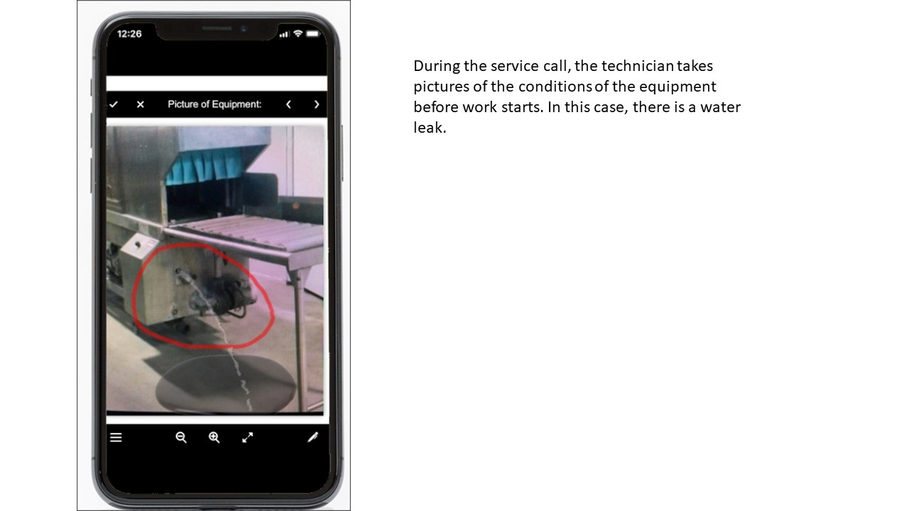 Mobile Dispatch App with Image Capture