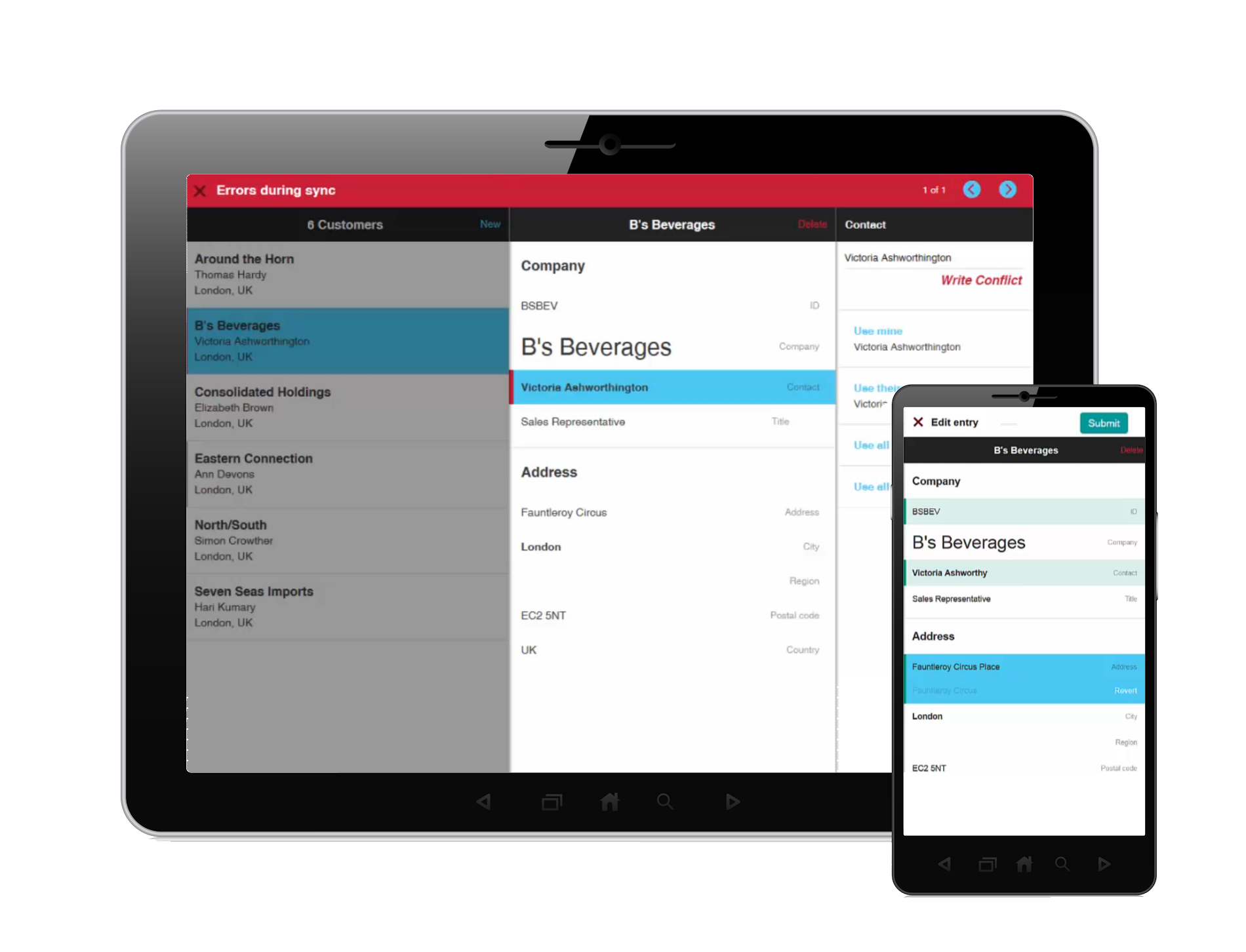 BYOD mobile app business development platform