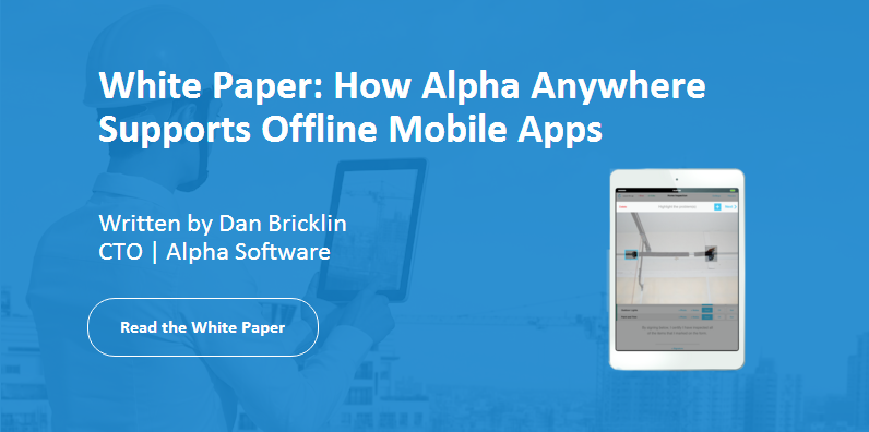 How to build offline mobile apps