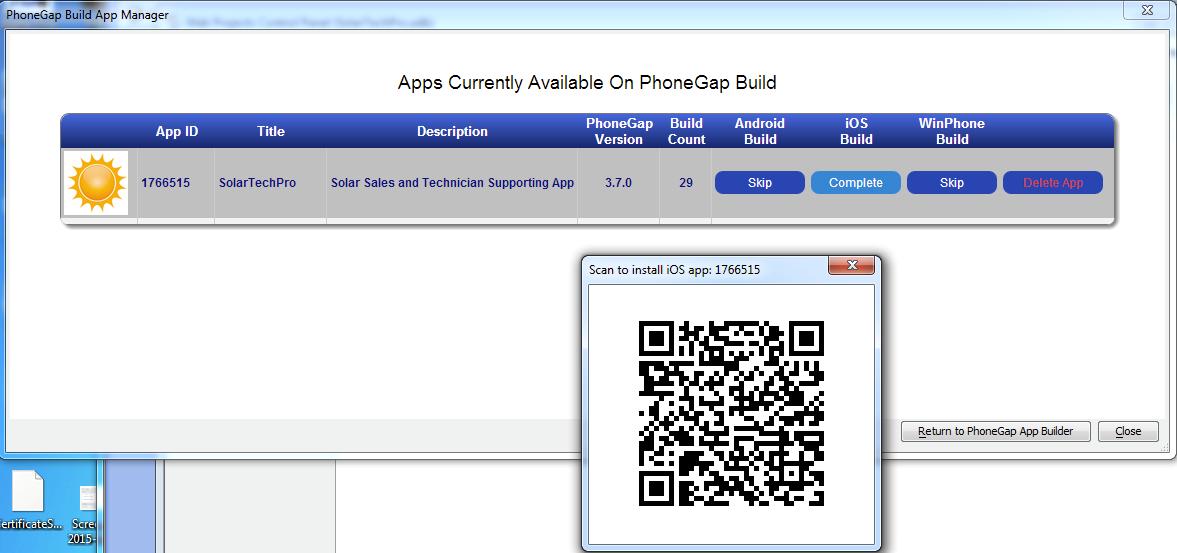PhoneGap Build for cross platform mobile apps