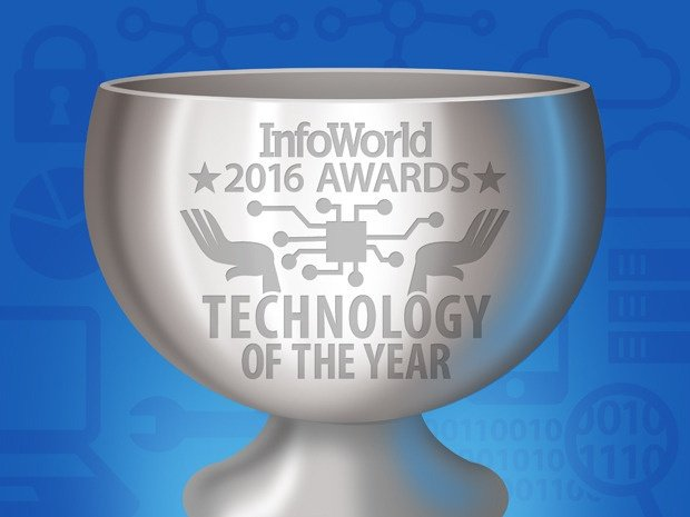 InfoWorld Product of the Year Logo Blue