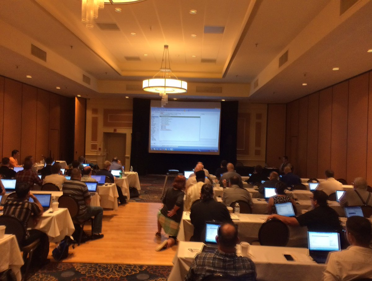 A Pre-Conference Training Session at Alpha DevCon 2016