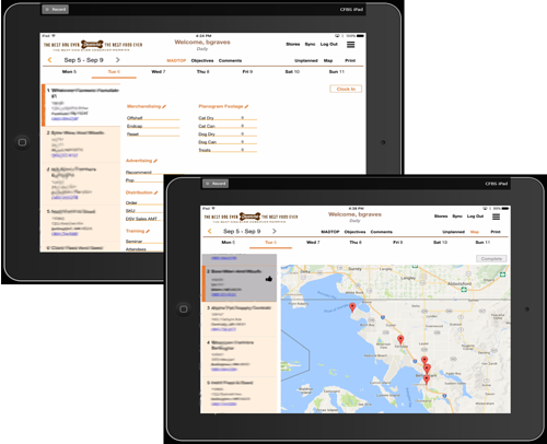 Merrick Sales App