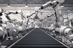 Industrial Robots: Robotic Process Automation (RPA), mobile apps and AI will fundamentally change how employees engage with industrial robots and IoT devices