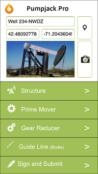 Alpha Software's pumpjack inspection app is an example of the digital oil field at work.