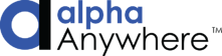 Alpha Anywhere low code development software