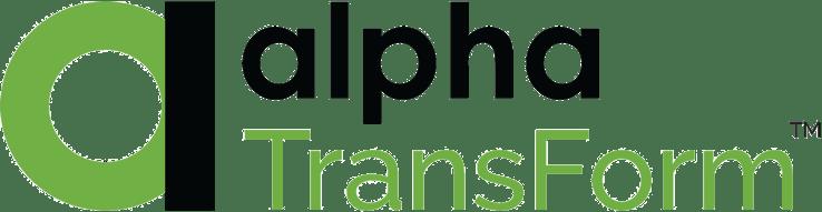 Alpha TransForm analytics dashboards