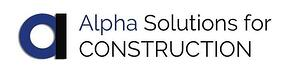 Alpha Solutions for Construction