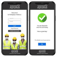 AlphaMED Workplace Wellness App