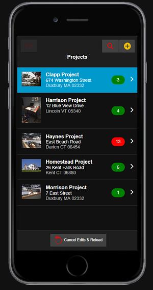Construction Punch List inspection app