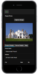 Punch List App Image Capture Example