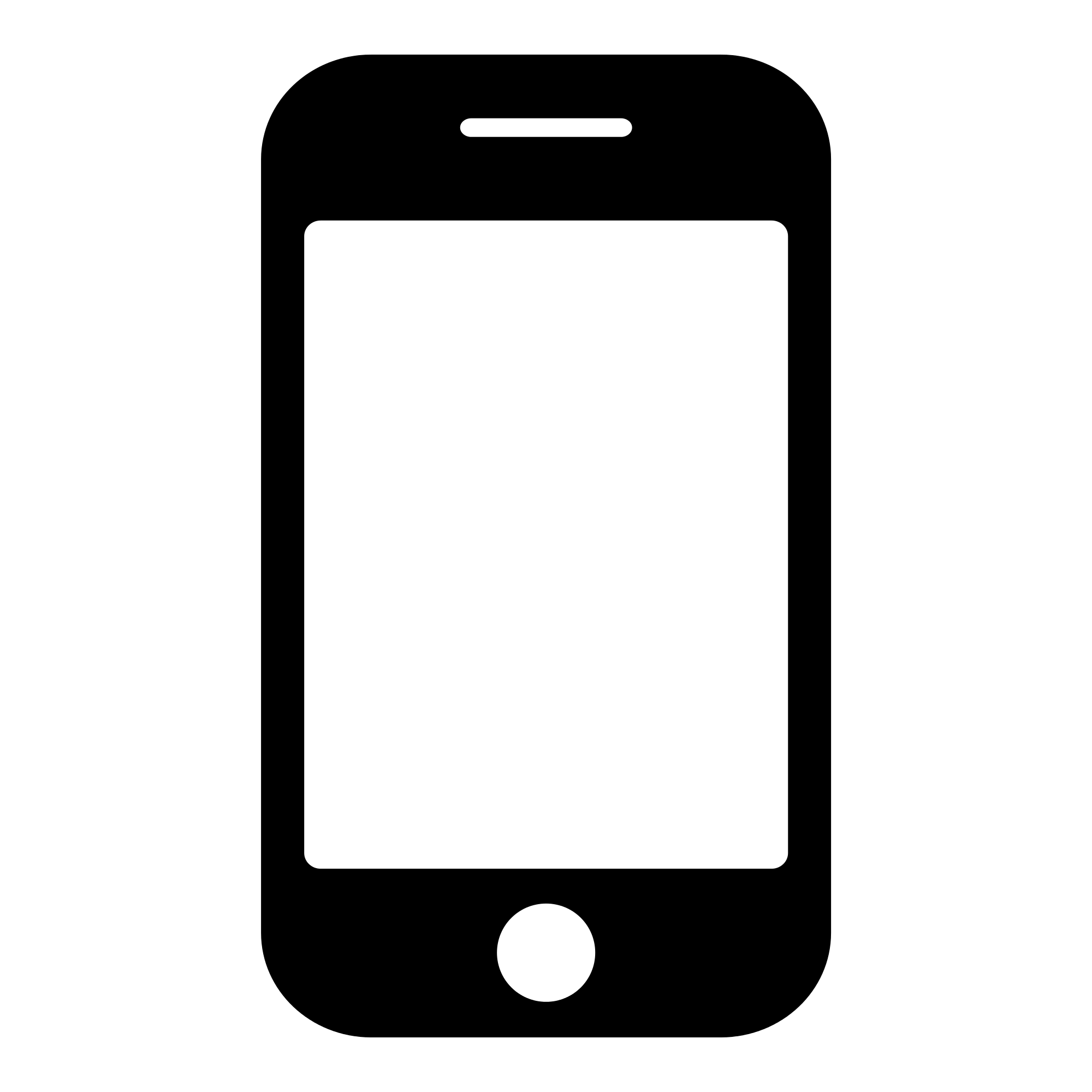 Black Smartphone icon.png