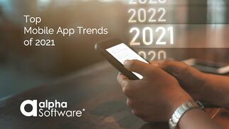 Blog Top Mobile App Trends of 2021