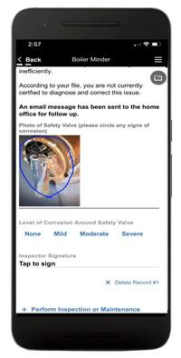 HVAC Inspection App Forms