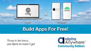 Alpha Software - Build Apps For Free Video
