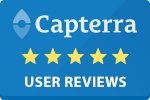 Capterra 5 Star Blue