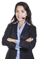Career-woman-headset