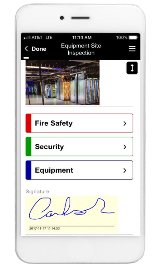 Safety Inspection App