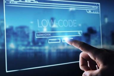 Increasing low code market growth