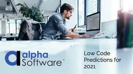 Low code 2021 predictions