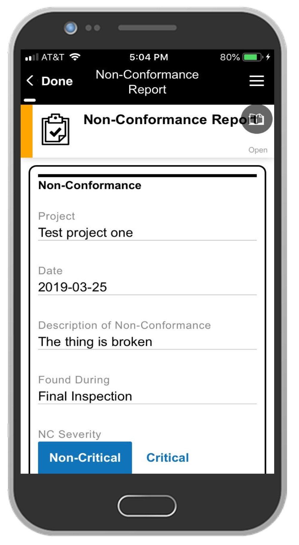 NCR App Screenshot 1