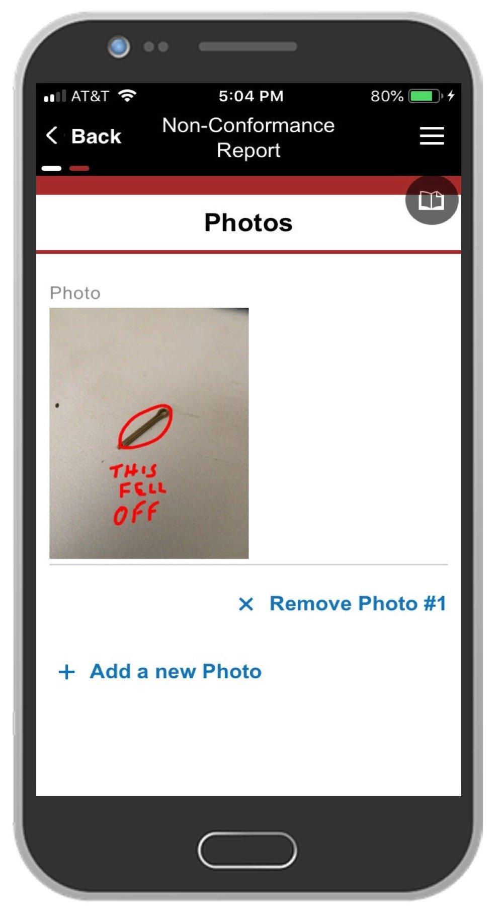 NCR App Screenshot 2