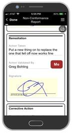 mobile app design example 4