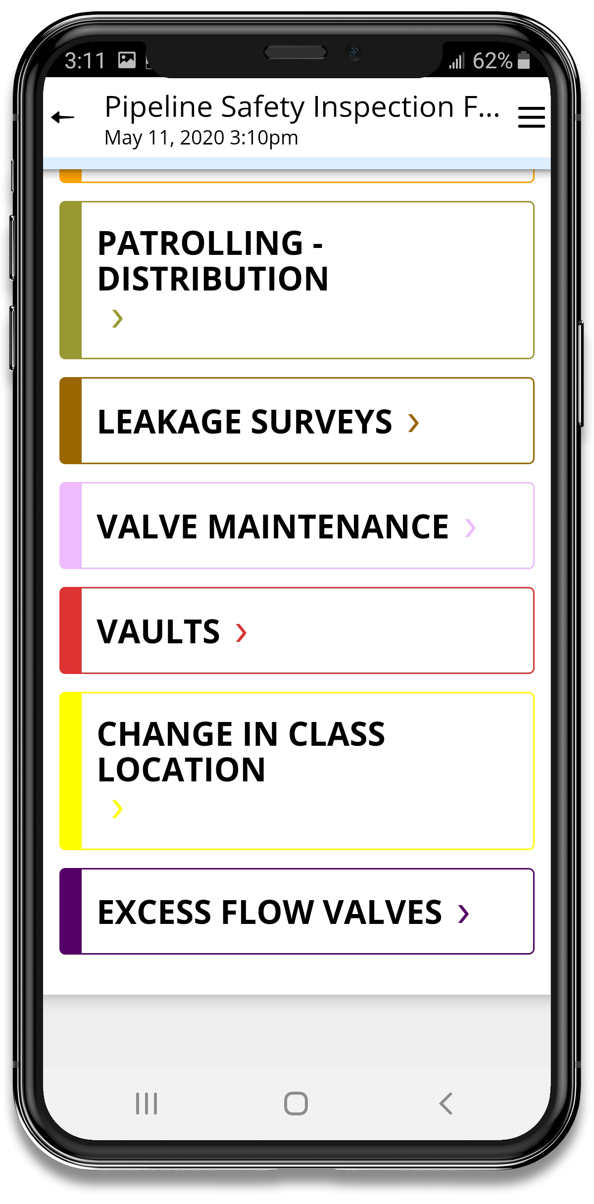 Pipeline Safety App Template