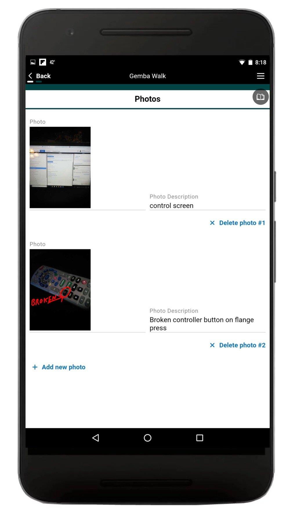 Safety Gemba Walk App 4