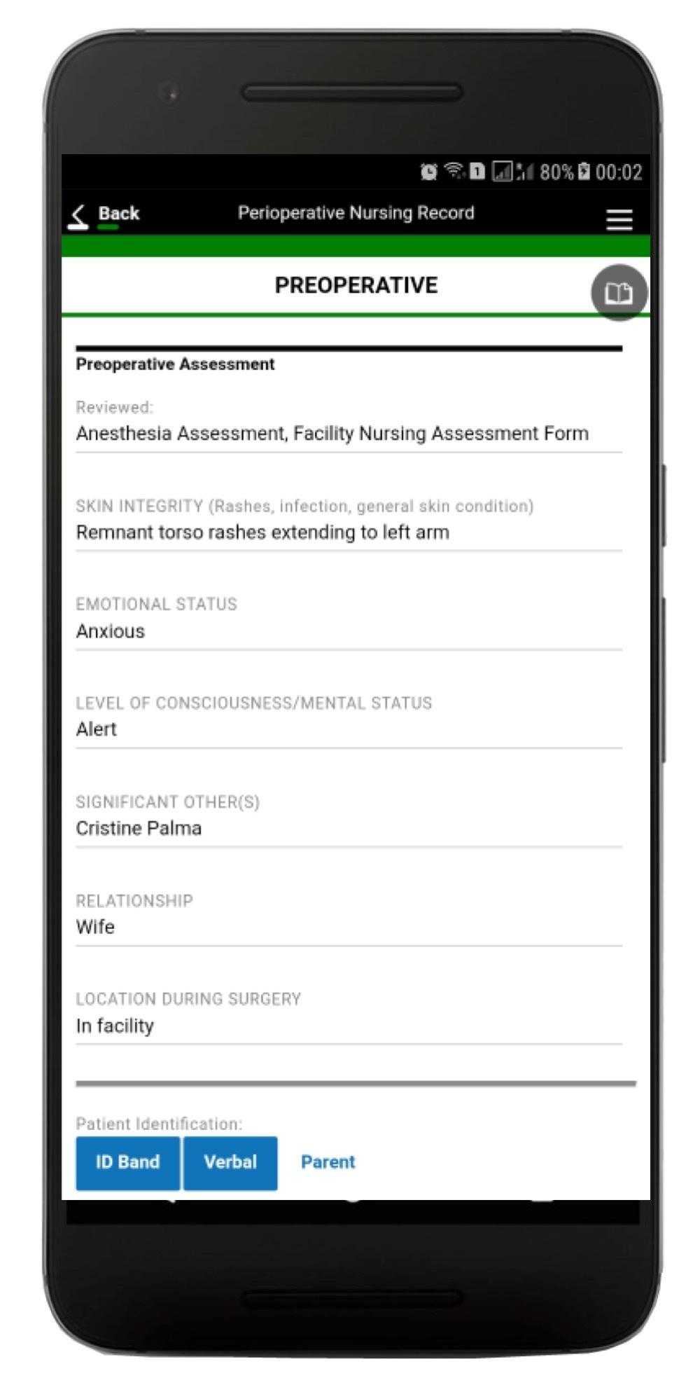 Perioperative App