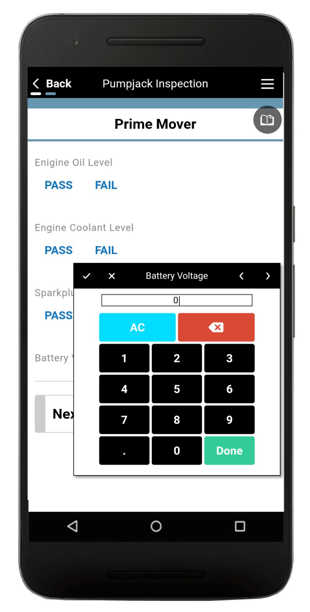 Pumpjack Inspection App