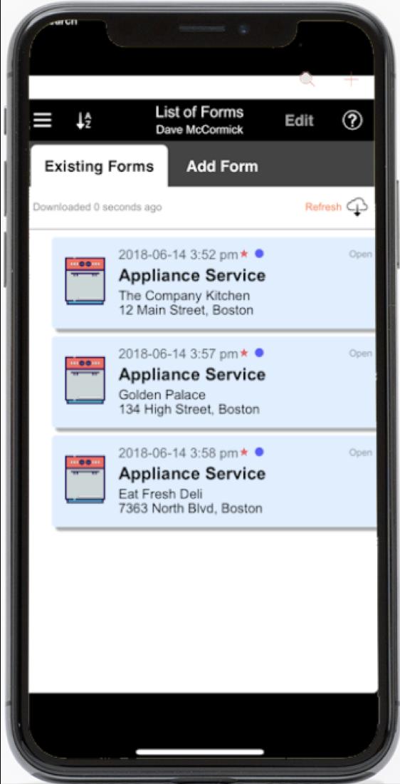Service Dispatch App