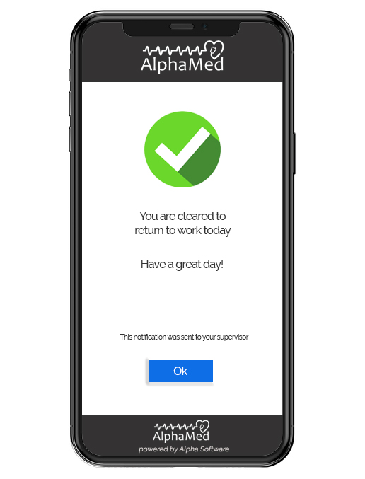 Workplace wellness app