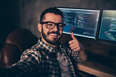 40% of developers said low code software improves software quality
