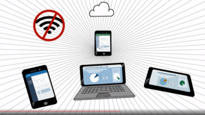 Business workers need business apps that don't need WiFi or data.