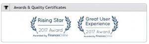 Alpha Anywhere  Receives FinancesOnline Awards