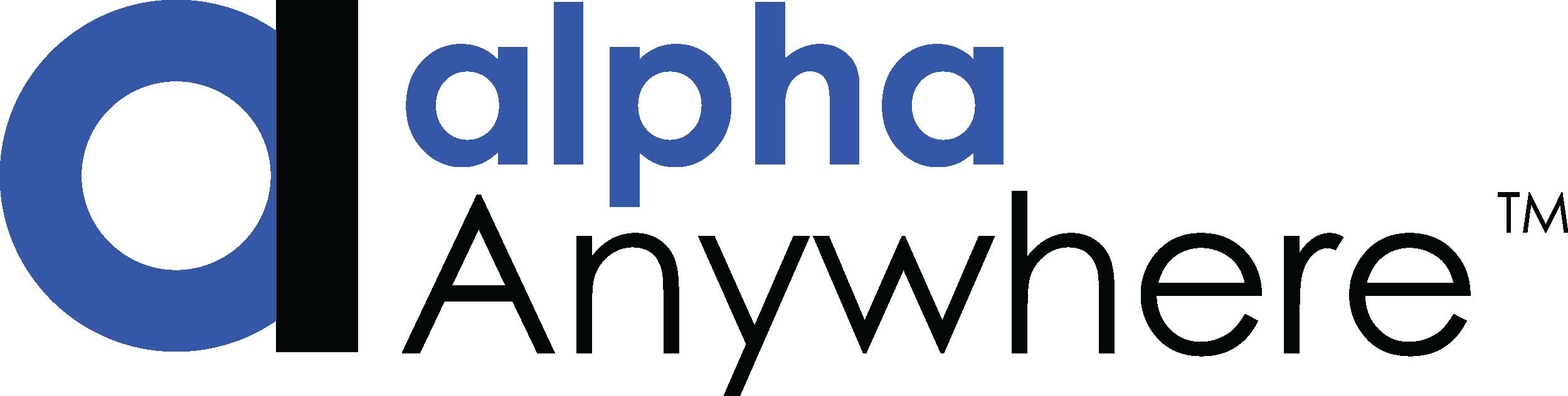 Alpha Anywhere Logo