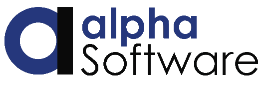 AlphaSWCorp Logo Transparent