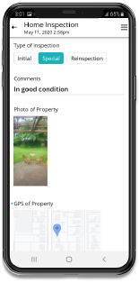 Construction App for Home Inspection