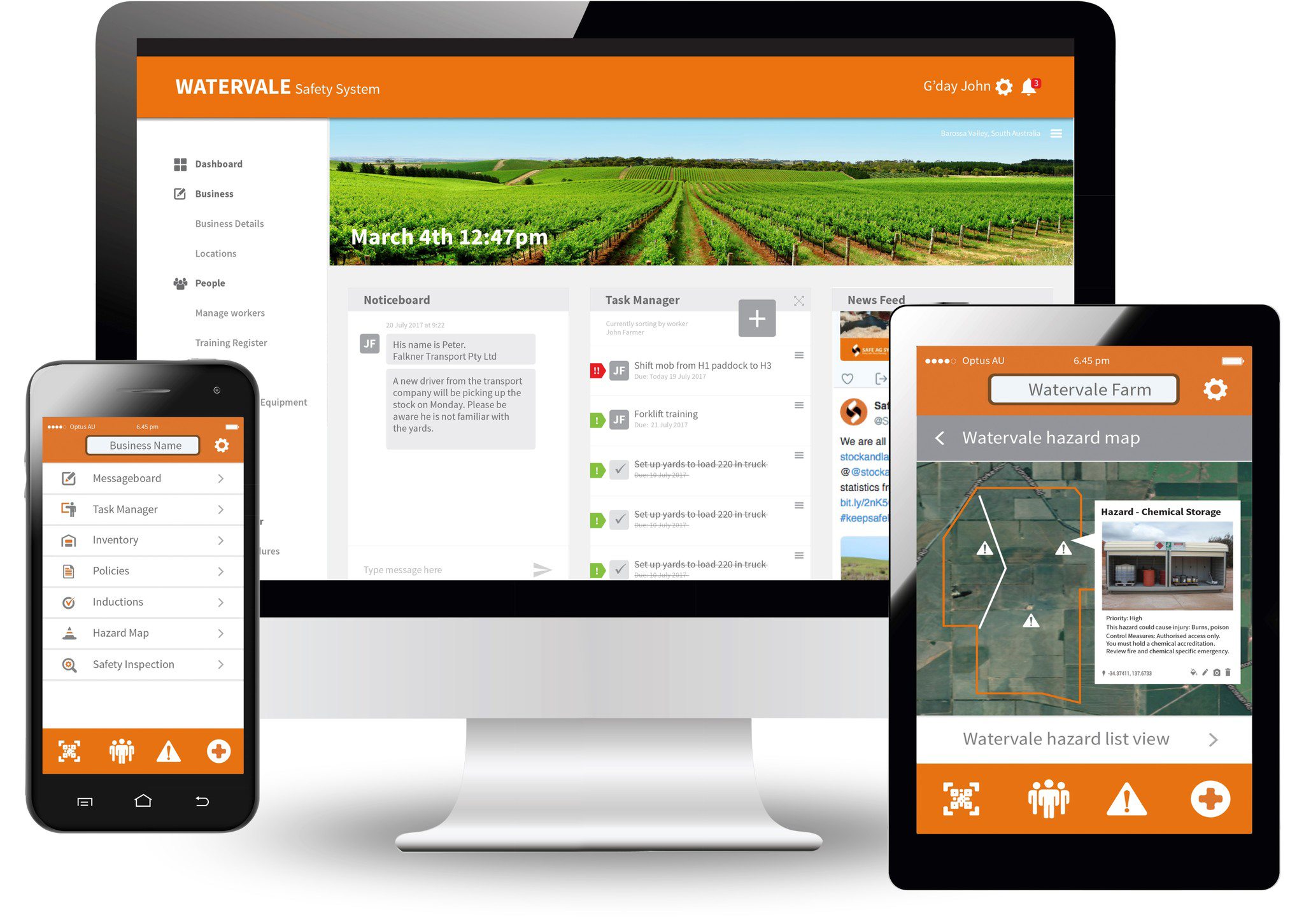 Responsive mobile app development platform