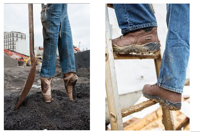 What do work boots and ballet shoes have to do with enabling line of business people to build enterprise mobile apps