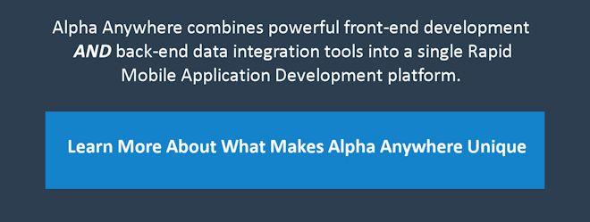 mobile app back-end integration tools