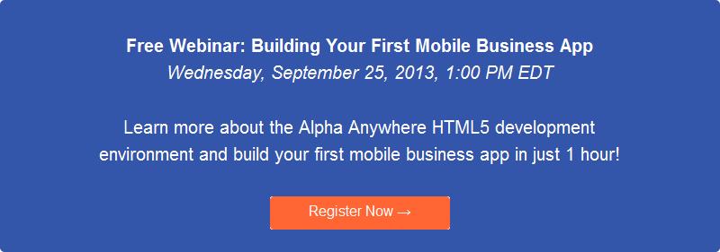 HTML5, JavaScript mobile design and development