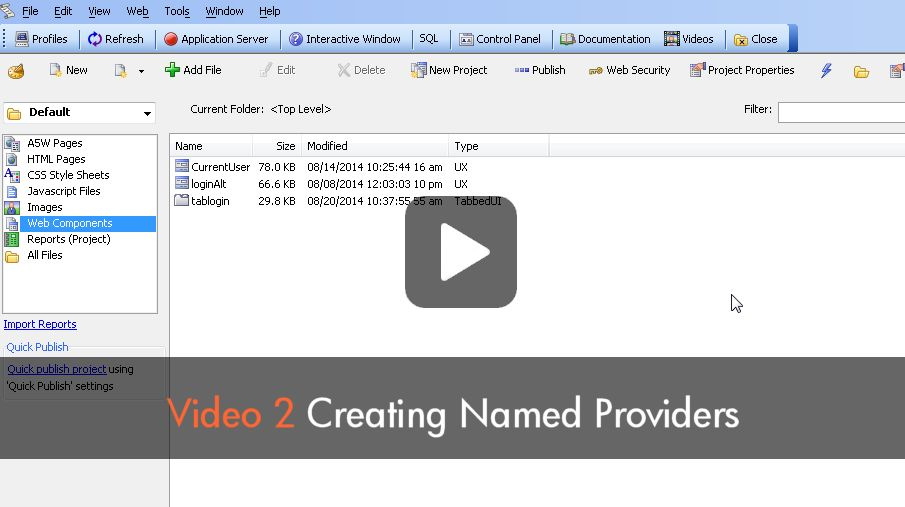 Watch Video Part 2 - Application Security Framework
