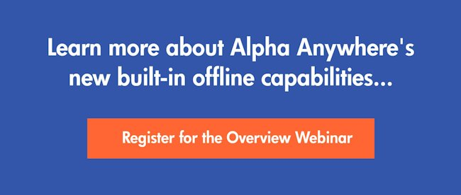 Register for the offline capabilities webinar