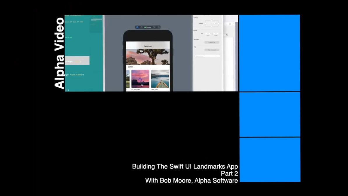 How to Build The SwiftUI 'Landmarks App' for Cross-Platform Use